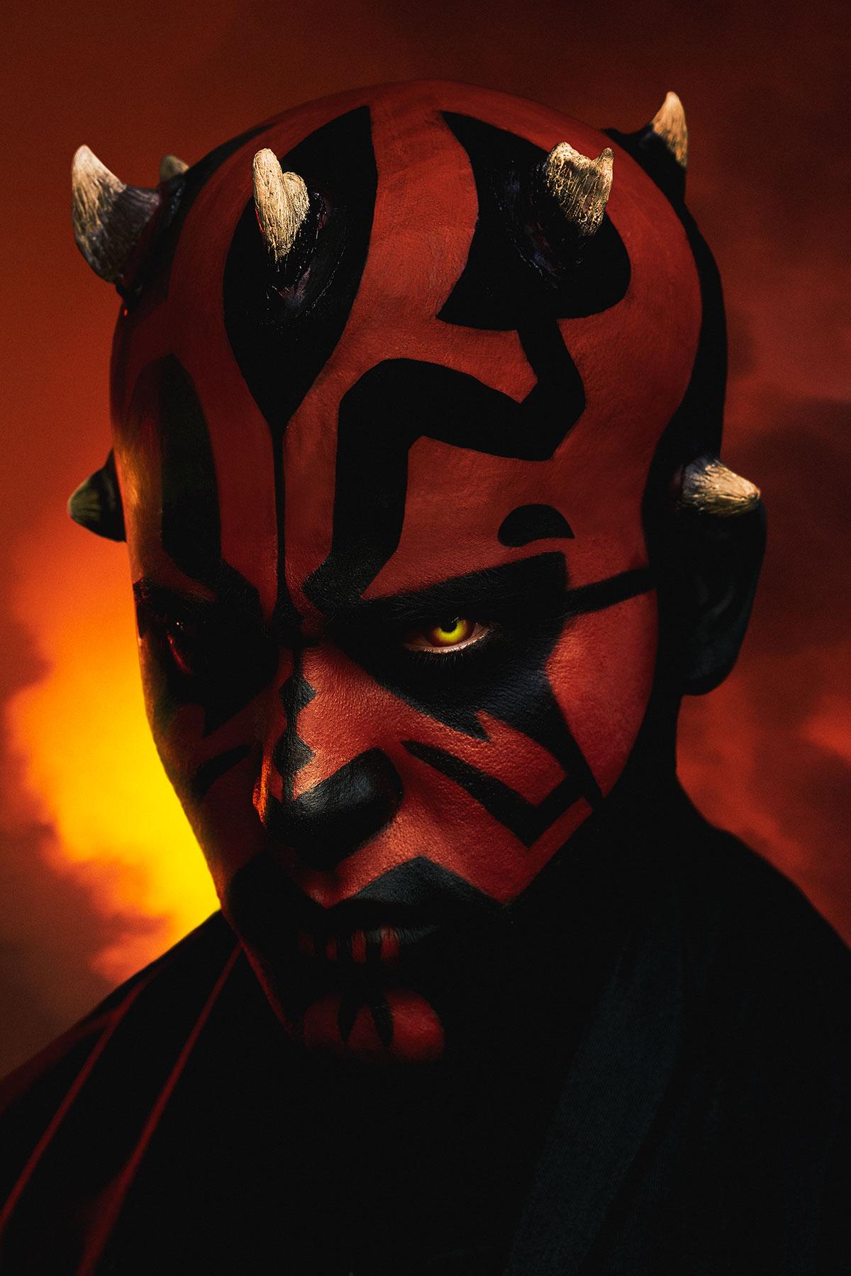 Arthur Sayanoff Darth Maul Star Wars 08 09