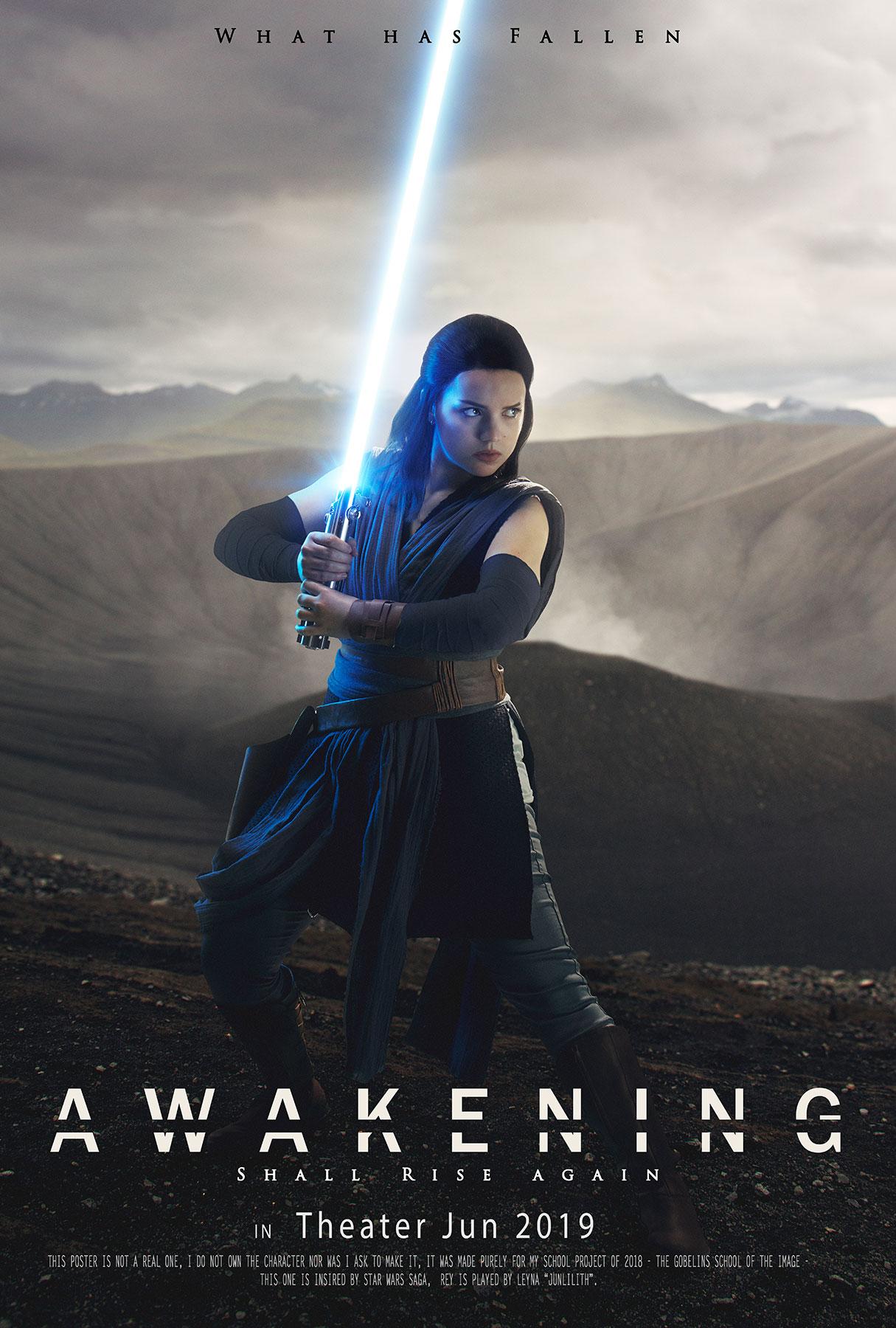 Arthur Sayanoff Rey Star Wars 11 11