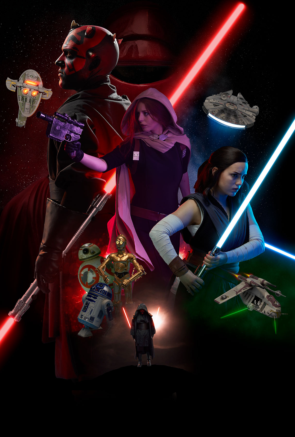 Sayanoff Arthur Star Wars Poster 02 04