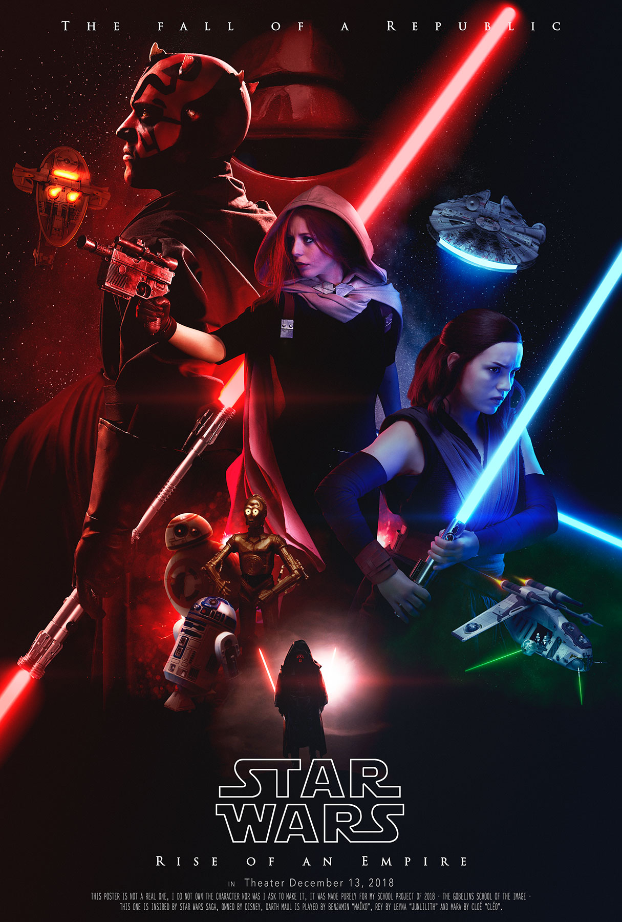 Sayanoff Arthur Star Wars Poster 02 16